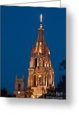 San Migel De Allende, Mexico Greeting Card