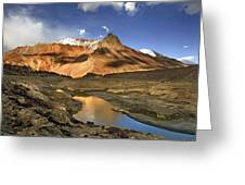 Serchu Valley Leh India Greeting Card