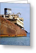 Shipwreck On Lanzarote Greeting Card