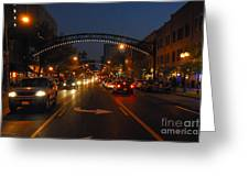 D8l-152 Short North Gallery Hop Photo Greeting Card