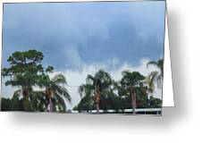 Skyscape Tornado Forming Greeting Card
