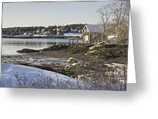 South Bristol On The Coast Of Maine Greeting Card