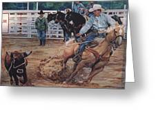 South Texas Cowboy Greeting Card