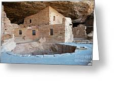 Spruce Tree House Mesa Verde National Park Greeting Card