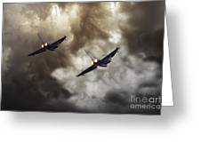 3 Squadron Greeting Card