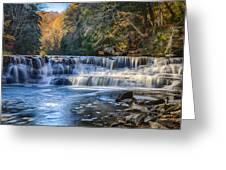 Squaw Rock - Chagrin River Falls Greeting Card