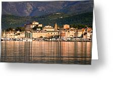 St Florent In Corsica Greeting Card