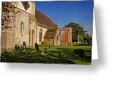St Marys Church Kintbury Greeting Card