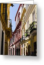 Streets Of Seville - Magic Colours Greeting Card