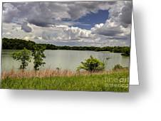 3-summer Time At Moraine View State Park Greeting Card