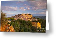 Sunrise Over Roussillon Greeting Card