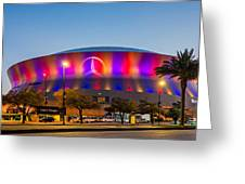Superdome Greeting Card