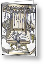Surgical Instruments Greeting Card