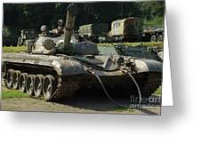 T-72 /2/ Greeting Card