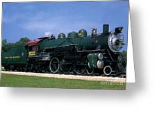 Texas State Railroad Greeting Card