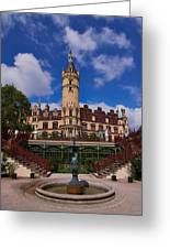 The Castle Of Schwerin Greeting Card