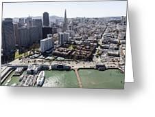 The Embarcadero And Downtown, San Greeting Card