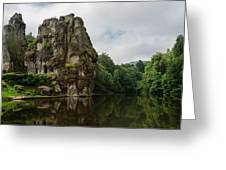 The Externsteine Greeting Card