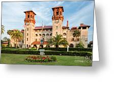 The Lightner Museum Formerly The Hotel Alcazar St. Augustine Florida Greeting Card