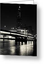 The Shard And London Bridge Greeting Card
