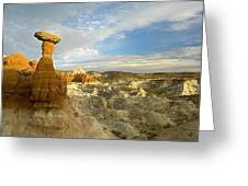 Toadstool Caprocks Grand Staircase Greeting Card