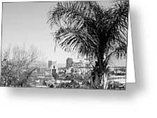 Tucson Az Skyline Greeting Card