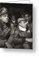 Tuskegee Airmen, 1945 Greeting Card