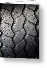 Tyre Tread Greeting Card