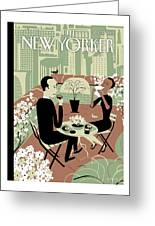 New Yorker April 23rd, 2012 Greeting Card