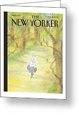 New Yorker August 21st, 2006 Greeting Card