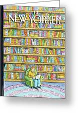 New Yorker October 18th, 2010 Greeting Card