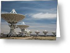 Very Large Array Greeting Card