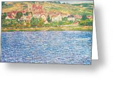 Vetheuil Greeting Card
