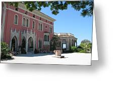 Villa Ephrussi De Rothschild Greeting Card