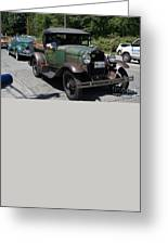 Vintage Cars Greeting Card