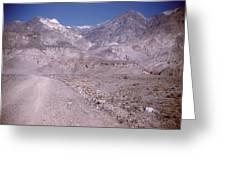 Vintage Death Valley By Lynn Bramkamp Greeting Card