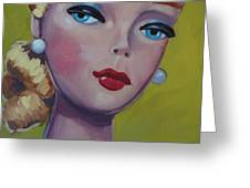 Vintage Toy Series Greeting Card by Kelley Smith
