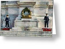 Vittorio Emanuele Monument In Rome Greeting Card