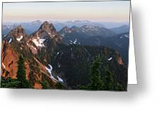 Washington, Cascade Mountains, Mount Greeting Card