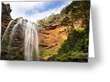 Wentworth Falls Blue Mountains Greeting Card