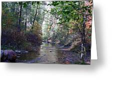 West Fork Oak Creek Greeting Card