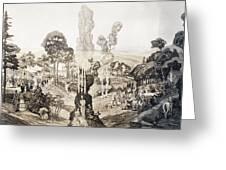 White Sulphur Springs Greeting Card