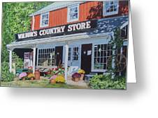 Wilbur's Country Store Greeting Card