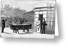 William Henry Vanderbilt (1821-1885) Greeting Card