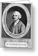 William Hunter (17178-1783) Greeting Card
