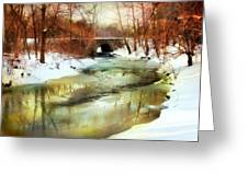 Winter Waters Greeting Card