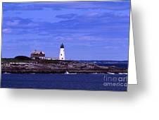 Wood Island Lighthouse Greeting Card