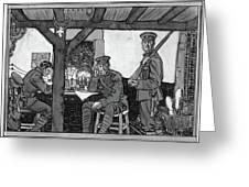 Wwi Soldiers, 1918 Greeting Card