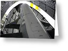 X-37b Orbital Test Vehicle Greeting Card