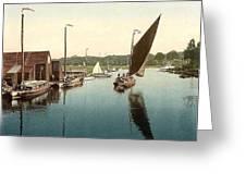 Norfolk  Overstrand  Beach Greeting Card